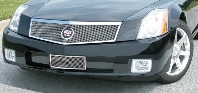 04-08 Cadillac Xlr E&g Classics Classic Clear Mesh 1pc Upper Grille