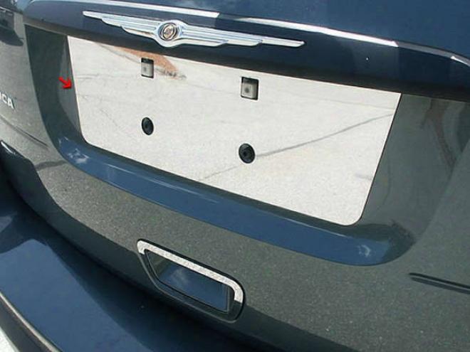 04-08 Chrysler Pacifica Quality License Plate Bezel Lp44750