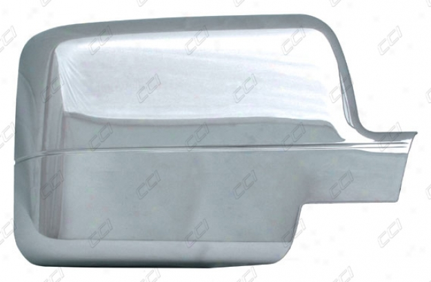 04-08 F-150 Coast To Coast International Chrome Abs 2 Piece Reflector Cover Full