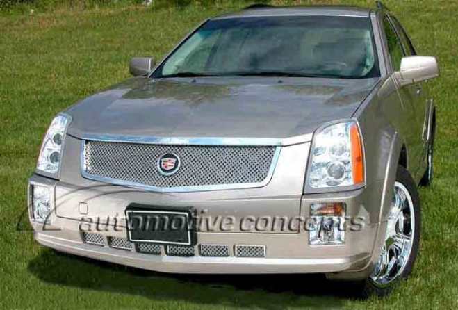 04-09 Cadillac Srx E&g Classics Classic Dual Weave Mesh Grille