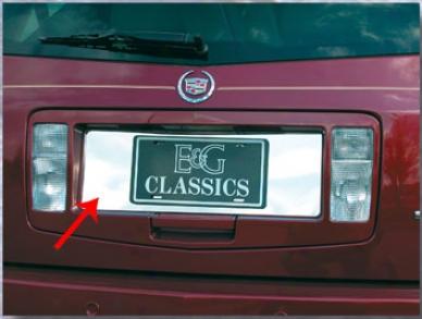04-09 Cadillac Srx E&g Classics Srx License Tag Bezel 1003-0710-04