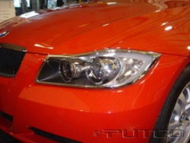 05-06 Bmw 35ci Putco Head Light Bezel Sst 401212