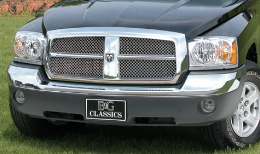 05-06 Dodge Dakota E&g Classics Heavy Metal 2pc Mesh Grille