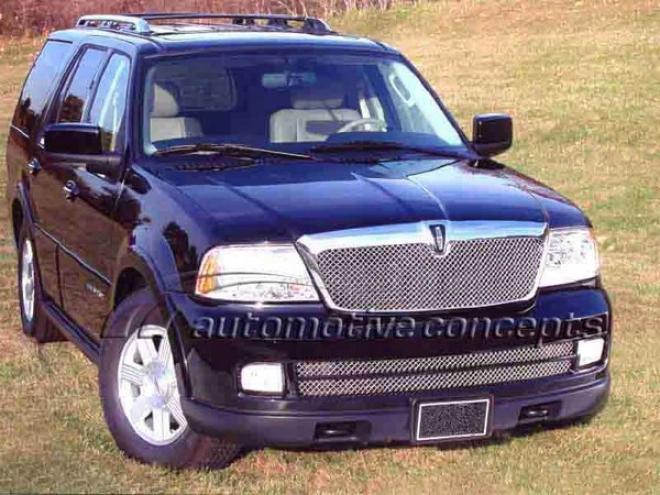 05-06 Lincoln Navigator E&g Classics Heavy Mesh 2pc Grille