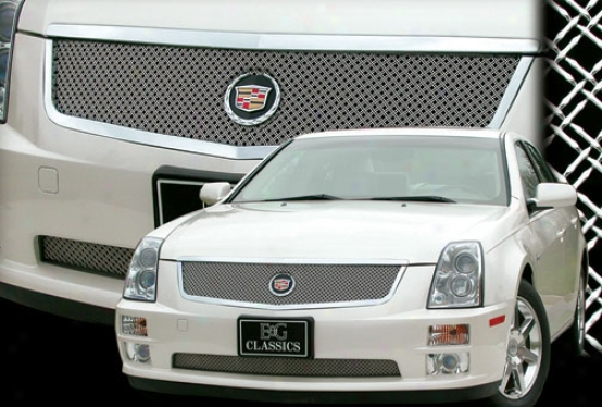 05-07 Cadillac Sts E&g Classics Classic Dual Weave Mesh Grille