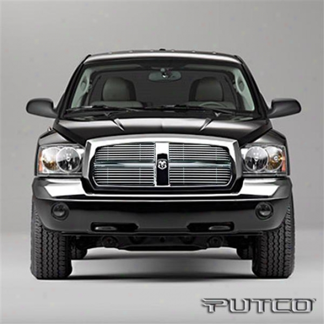 05-07 Dodge Dakota Putco Virtual Tubular Grilles 36136