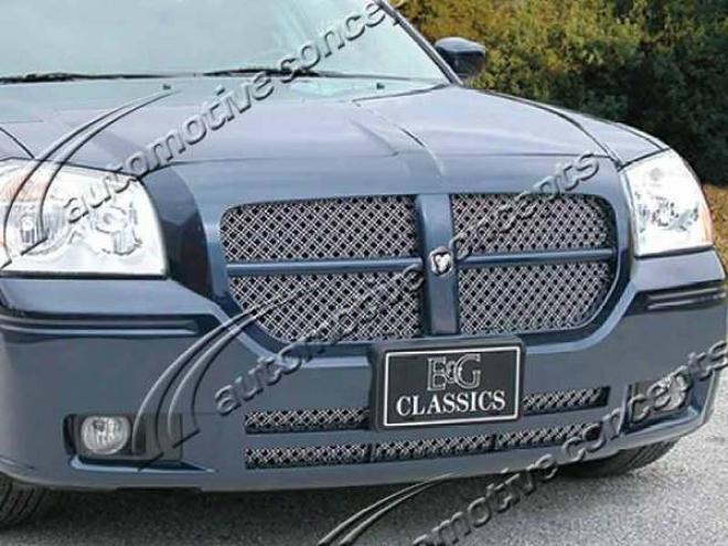 05-07 Dodge Magnum E&g Classics 3pc Dual Weave Mesh Grille
