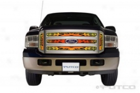 05-07 Ford F-250 Super Duty Putco Grille Set in 89355