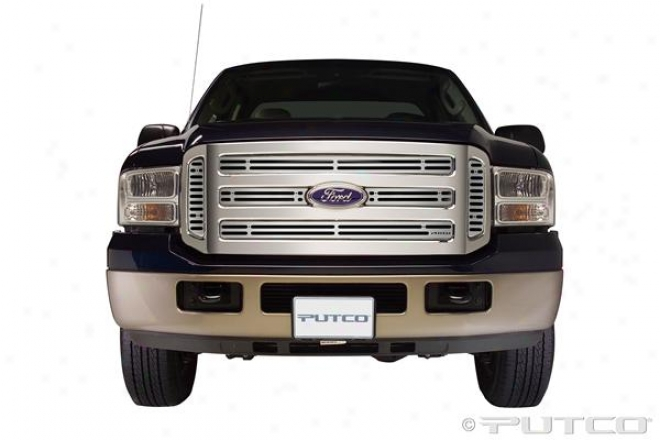 05-07 Ford F-250 Super Duty Putco Liquid Boss Grilles 302155