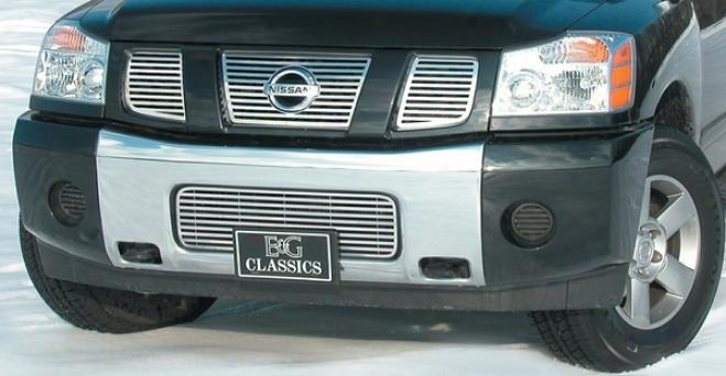 """05-09 Nissan Armada E&g Classics 1pc Lower 1/4 X 1/4 """"q"""" Grille"""
