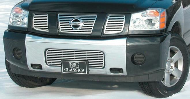 """""""05-09 Nissan Armada E&g Claseics 3pc Upper 1/4 X 1/4 """"""""q"""""""" Grille"""""""