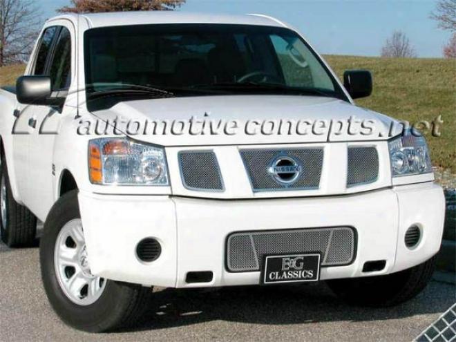 05-09 Nissan Fleet E&g Classics 4pc Fine Mesh Grille 1323-0102-04