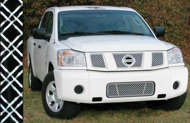 05-09 Nissan Armada E&g Classics Dual Mesh Grille 1323-0104-04d