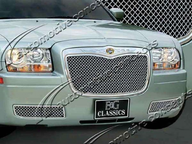 05-10 300 E&g Classics Cnc Machined Ultimate Heavy Mesh Grille