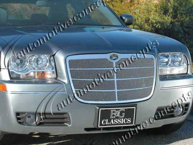 05-10 Chrysler 300 E&g Classics Euro Style Fine Mesh Grille