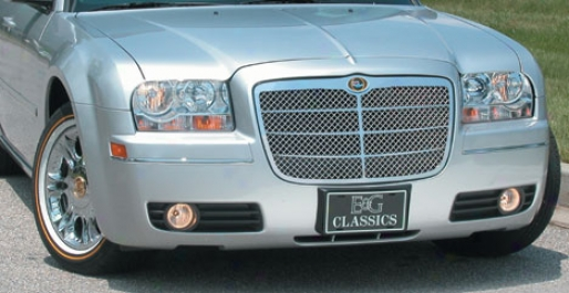 05-10 Chrysler 300 E&g Classics Euro Style Heavy Metal Mesh Grille