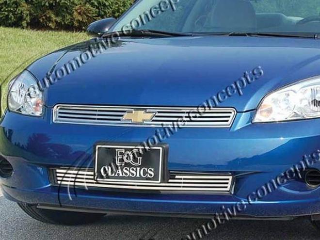 """""""06-07 Chevrolet Monte Carlo E&g Classics 2pc 1/4 X 1/4 """"""""q"""""""" Grille"""""""