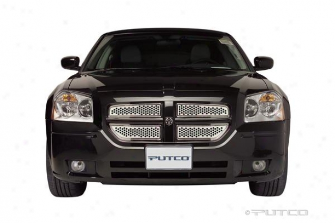 06-07 Dodge Magnum Putco Punch Stainless Steel Grilles 84334