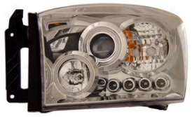 06-07 Dodge Ram 25500 Anzo Head Light Assembly 111103