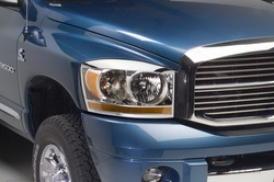 06-08 Dodge Ram 1500 Putco Head Light Bezel Set 402232