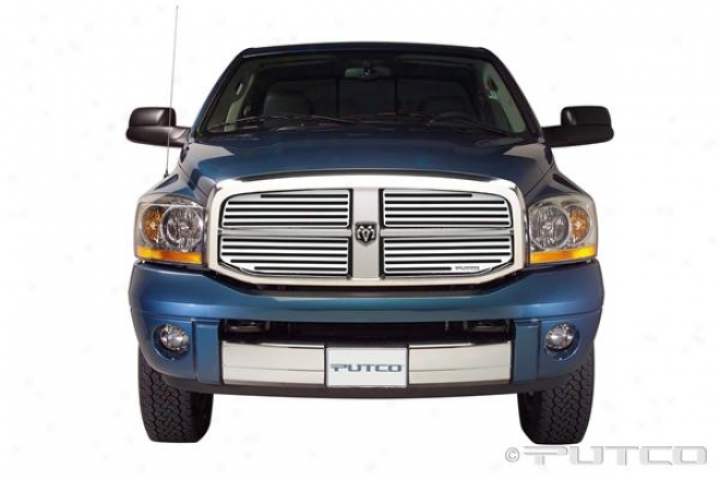 06-08 Dodge Ram 1500 Putco Liquid Boss Grilles 302156