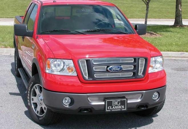 """06-08 Ford F-150 E&g Classics 7pc 1/4 X 1/4 """"q"""" Grille 1045-0585-06q"""
