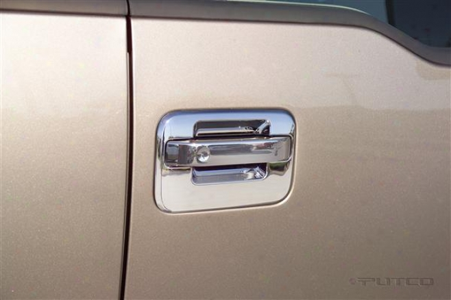 06-08 Lincoln Sign Lt Putco Door Handle Covers 403136