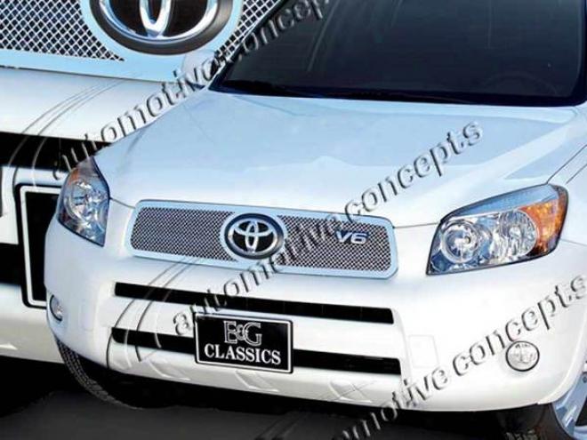 06-08 Toyota Rav4 E&g Classics Fine Mesh Grille 1130-0102-06