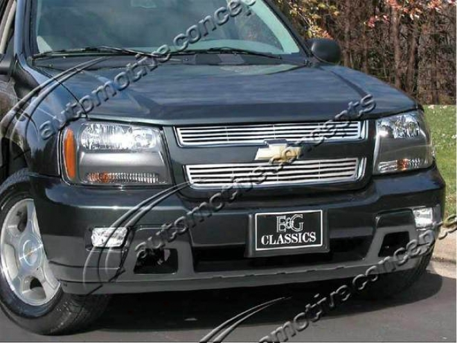 """06-08 Trailblazer E&g Classics 2pc """"q"""" Grille (fits Lt Models Only)"""