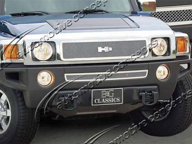 06-09 Hummer H3 E&g Classics Fine Ensnare Grille 1355-0102-06