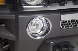 06-09 Hummer H3 Putco Fog/driving Light Trim Tingle 402312
