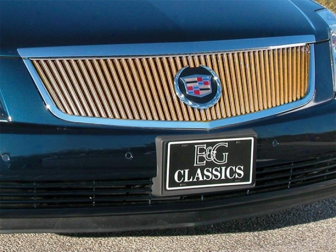 06-10 Cadillac Dts E&g Classics Gold Classic Grille 1986-0121-06
