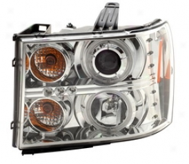 07-08 Gmc Sierra 2500 Hd Anz oHead Light Assembly 111126