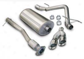 07-08 Gmc Sierra Denali Corsa Exhaust System Kit 145l4