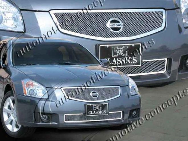 07-08 Nissan Maxima E&g Classics 2pc Fine Mesh Grille 1083-0102-07
