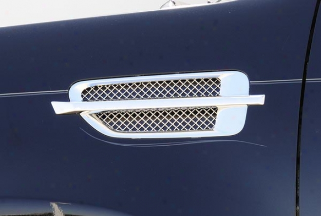 07-09 Cadillac Escalade T-rex Side Vent Grillle 54199