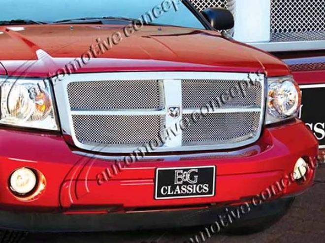 07-09 Dodge Durango E&g Classics Fine Mesh Grille 1103-0102-07