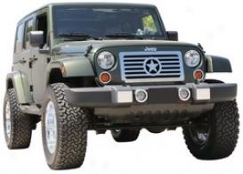 07-09 Jeep Wrangler T-rex Grille Insert 66481