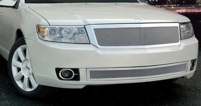 07-09 Lincoln Mkz E&g Classics Upper Fine Mesh Grille 1369-010u-07