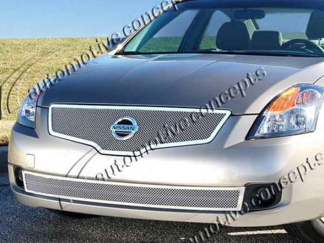 07-09 Nissan Altima E&g Classics 2pc Fine Mesh Grille 1084-0102-07
