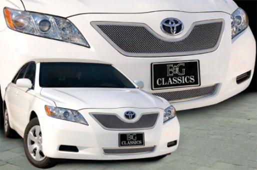 07-09 Toyota Camry E&g Classics 1pc Upper Fine Mesh Grille
