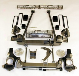 07-10 Chevrolet Suburban 2500 Trailmaster Lift Kit-suspeension C416
