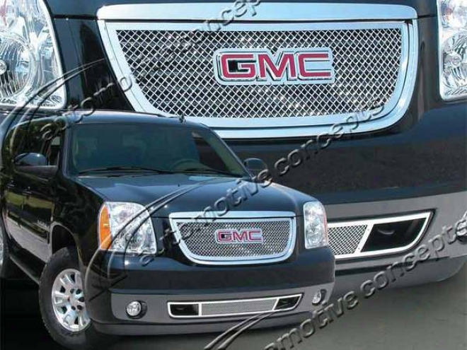 07-10 Yukon E&g Classics Heavy Metal Mesh Grille (will Not Hybrid Model)