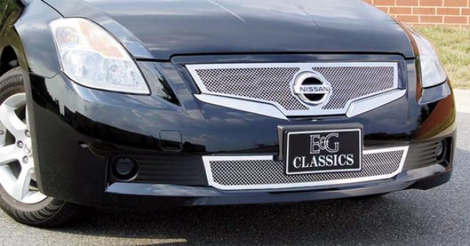 08-09 Nissan Altima E&g Classics Lower Fine Meh Grille 1081-010l-08