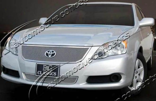 08-09 Toyota Avalon E&g Classics 2pc Fine Mesh Grille 1080-0102-08