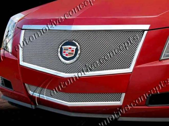 08-10 Cadillac Cts E&g Classics Classic Fine Mesh Grille 1007-0102-08