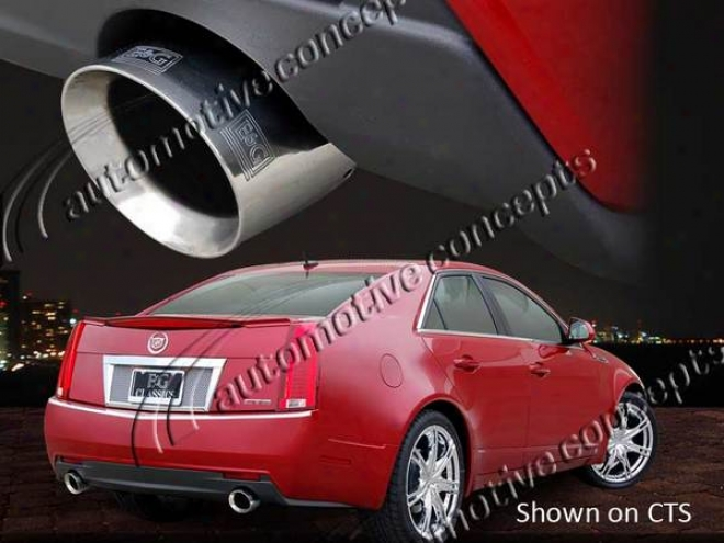 08-10 Cts E&g Classics Cts & Sts Stainless Steel Exhaust Tip Set