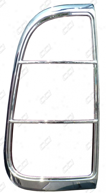 08-10 F-250 Super Tax Coast To Shore International Chrome Abs Tail Liggt Bezel