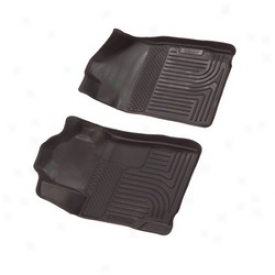 08-10 Ford F-250 Super Duty Husky Liners Floor Interweave 18381