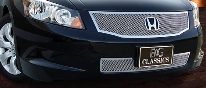 08-10 Honda Accord E&g Classics Lower I4 Fine Mesh Grille 1110-010l-08